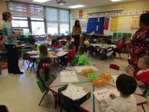 Deaf and typically hearing kindergarten students learn together at Connetquot Elementary School in East Islip.